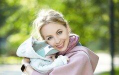 Operos solistė J. Gringytė: visada daug dirbau, bet tik gimus kūdikiui supratau, kad turėjau aš to laiko...