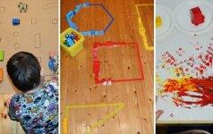 Teo ir Ieva pristato: 5 žaidimai su vaiku, kurie lavina vaizduotę, kūrybiškumą ir smulkiąją motoriką