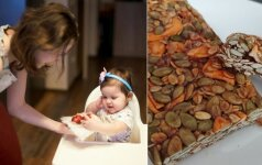 Sveikuoliškų užkandukų receptą sukūrusi Jurgita atrado širdžiai mielą pomėgį