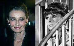 Audrey Hepburn - tobula moteris, kentusi badą ir nelaimingą meilę