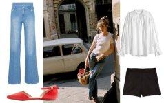 5 drabužiai, kurie padės sukurti prancūziško Jane Birkin stiliaus vertą spintą