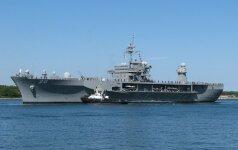 В Клайпеду прибыло судно ВМФ США