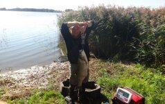 Lietuvos žvejo laimikis gali pranokti pasaulio rekordą