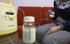 Moteris pritraukė 110 litrų savo pieno ir pasielgė kilniai