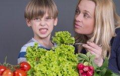 Kas nutinka vaikams, jei jie nevalgo mėsos?