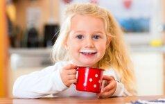 Ar iš tiesų vaikams sveika gerti pieną