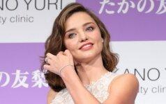 Miranda'os Kerr grožio paslaptys. Kaip ji išlaiko tobulą modelio odą?