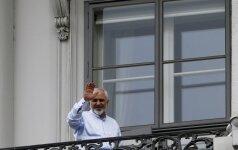 Irano užsienio reikalų ministras Javadas Zarifas
