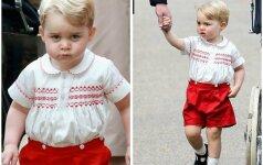 Pasaulio numylėtinis princas George švenčia trečiąjį gimtadienį FOTO
