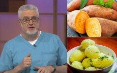 Gydytojas papasakojo, ką pajustumėte, jei įprastas bulves pakeistumėte saldžiosiomis