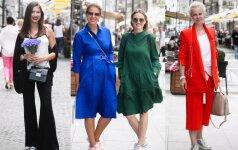 Vilniaus gatvėse netrūksta stilingų vasariškų įvaizdžių