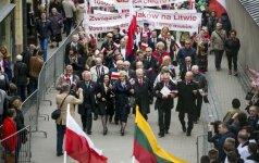 Świąteczna Parada Polaków na Litwie. Nagranie całego pochodu