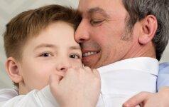 Patarimai, kaip tėčiams užmegzti ryšį su vaiku