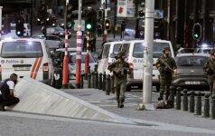 Sprogimas Briuselio centrinėje stotyje
