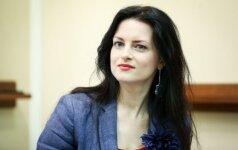 Živilė Vaškytė po motinystės atostogų grįžta į darbą