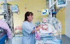 Gydytoja: mitas, jog ankstukai dažniausiai gimsta savęs neprižiūrinčioms motinoms