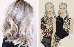 Šukuosenos, kurios išgelbės, kuomet nespėjai išsiplauti plaukų