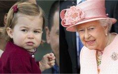 Ar tikrai princesė Charlotte panaši į karalienę? FOTO + apklausa