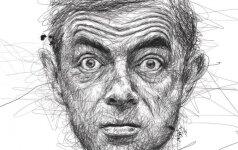 Rowanas Atkinsonas: mikčiojantis drovus vyras pavargo nuo pasaulinės šlovės ir pamilo į dukras tinkančią moterį