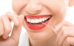 Svajojantiems apie baltus ir sveikus dantis - odontologės patarimai
