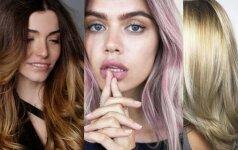 5 madingiausi plaukų dažymai 2017 metams