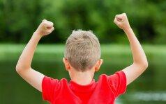 Kaip užauginti žmogų, kuris pasitiki savimi ir nebijo klysti