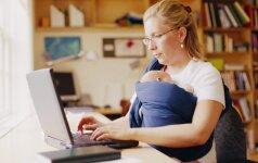 Kaip motinystė įkvepia moteris imtis verslo ar keisti gyvenimą iš esmės