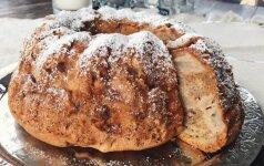 Julijos virtuvė: puikusis močiutės obuolių pyragas