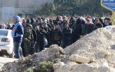 Сирийские повстанцы полностью оставили город Хомс