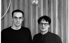 Tomas Ramanauskas (kairėje) ir Kristupas Sabolius teigia, kad laisvė – vienas svarbiausių kūrybinių aspektų