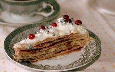 Lietinių tortas: paprastai paruošiamas ir labai gardus