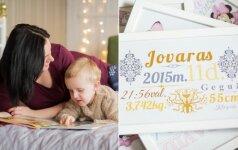Po gimdymo užplūdusi rutina Irinai padovanojo kūrybiško verslo idėją