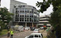 В здании нидерландской радиостанции захватили заложника