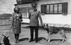 Slapta Hitlerio mylimoji Eva Braun - kvaila blondinė ar šaltakraujė moteris