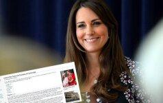 Dar negimęs karališkasis kūdikis turi savo puslapį enciklopedijoje
