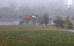 Pirmasis sniegas Kaune
