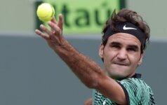 Miami Open finalas: R. Federeris - R. Nadalis