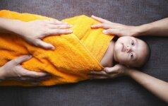 Gimė vaikas, turintis 31 pirštą
