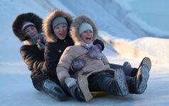 Leisti ar neleisti vaiko į lauką per šalčius: pediatrės patarimai