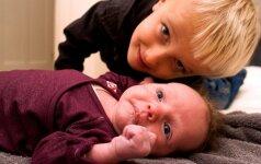 Kaip paruošti vaiką brolio ar sesės gimimui: pataria psichologė