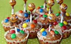 Išdykę keksiukai - vaikų džiaugsmui ir švenčių stalui