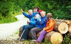 Milžiniškas šeimos savaitgalis: Žemaitijos paslaptys