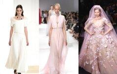 Gražiausios naujo sezono vestuvinės suknelės