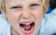 Įvardinta netikėta priežastis, kodėl vaikai blogai elgiasi
