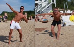 Vyrų nuomonė: vientisas maudymosi kostiumėlis – už ar prieš?