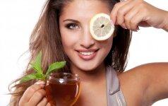 Grožio bėdos, kurių gali atsikratyti paprasčiausiomis arbatomis