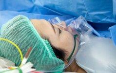 Mano gimdymas baigėsi operacija (skaitytojos istorija)