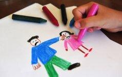 Psichologė: ką tėvams apie vaiką gali atskleisti jo piešiniai