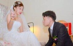 """Pamačiusi """"sutvarkytas"""" savo vestuvių nuotraukas, nuotaka neteko žado"""