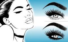 4 visoms tinkantys akių kontūrai ir dažniausios klaidos, kurias darome